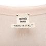 Authentic Second Hand Hermès Cotton Silk Knit Drape Top (PSS-990-00192) - Thumbnail 2