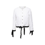 Authentic Second Hand Chanel Bow Detail Coco Blouse (PSS-990-00180) - Thumbnail 0