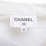 Authentic Second Hand Chanel Bow Detail Coco Blouse (PSS-990-00180) - Thumbnail 3
