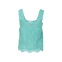 Authentic Second Hand Chanel Lace Sleeveless Blouse (PSS-990-00201) - Thumbnail 1