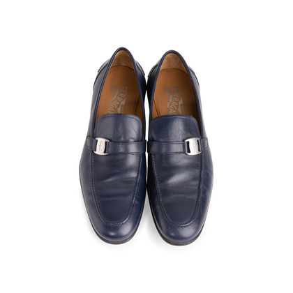 Authentic Second Hand Salvatore Ferragamo Men's Leather Loafers (PSS-604-00002)