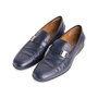 Authentic Second Hand Salvatore Ferragamo Men's Leather Loafers (PSS-604-00002) - Thumbnail 3