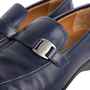 Authentic Second Hand Salvatore Ferragamo Men's Leather Loafers (PSS-604-00002) - Thumbnail 6