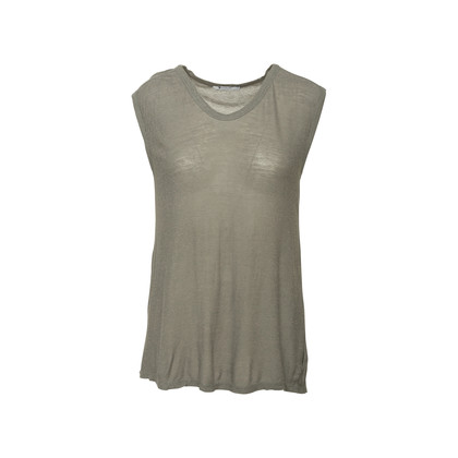 Authentic Second Hand T by Alexander Wang Basic Muscle Tank (PSS-705-00042)