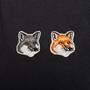 Authentic Second Hand Maison Kitsuné Polo Double Fox Head Patch (PSS-609-00043) - Thumbnail 2