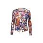 Authentic Second Hand Bottega Veneta Abstract Cashmere Silk Blend Cardigan (PSS-990-00212) - Thumbnail 0