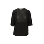 Authentic Second Hand Valentino Lace Bib Blouse (PSS-990-00225) - Thumbnail 0