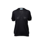 Authentic Second Hand Prada Short Sleeve Virgin Wool Sweater (PSS-990-00230) - Thumbnail 0