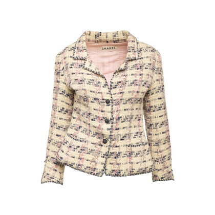 Authentic Second Hand Chanel Couture Tweed Jacket (PSS-292-00017)