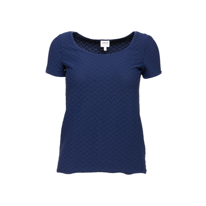 Authentic Second Hand Armani Collezioni Textured Top (PSS-956-00066)