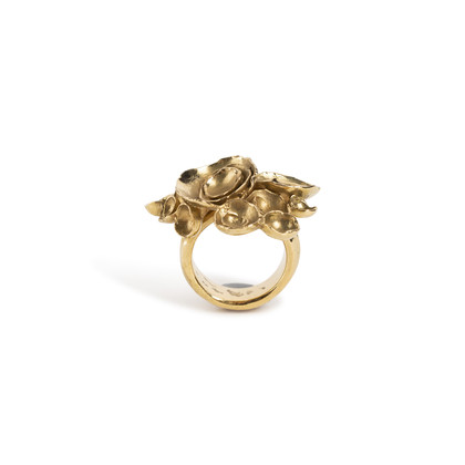 Authentic Second Hand Yves Saint Laurent Arty Ring (PSS-A16-00004)