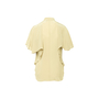 Authentic Second Hand Elie Saab Pleated Silk Shirt (PSS-356-00264) - Thumbnail 1