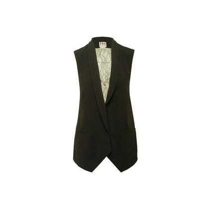 Authentic Second Hand Haute Hippie Lace Back Vest (PSS-356-00256)