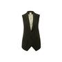 Authentic Second Hand Haute Hippie Lace Back Vest (PSS-356-00256) - Thumbnail 0