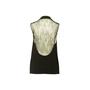 Authentic Second Hand Haute Hippie Lace Back Vest (PSS-356-00256) - Thumbnail 1