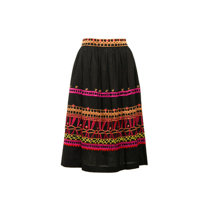 Authentic Second Hand Temperley London Amity Embroidered Skirt (PSS-356-00257)