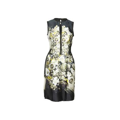 Authentic Second Hand Prada Floral Print Dress (PSS-866-00031)