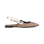 Authentic Second Hand Christian Dior J'adior Dotted Slingback Flats  (PSS-355-00091) - Thumbnail 1