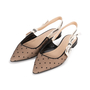 Authentic Second Hand Christian Dior J'adior Dotted Slingback Flats  (PSS-355-00091) - Thumbnail 3