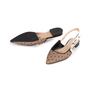 Authentic Second Hand Christian Dior J'adior Dotted Slingback Flats  (PSS-355-00091) - Thumbnail 4