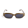 Authentic Second Hand Gucci Rectangle Acetate Sunglasses (PSS-A13-00006) - Thumbnail 1