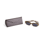 Authentic Second Hand Gucci Rectangle Acetate Sunglasses (PSS-A13-00006) - Thumbnail 7
