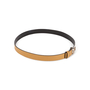Authentic Second Hand Gucci Leather Skinny Belt (PSS-A13-00009) - Thumbnail 2