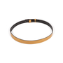 Authentic Second Hand Gucci Leather Skinny Belt (PSS-A13-00009) - Thumbnail 3