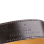 Authentic Second Hand Gucci Leather Skinny Belt (PSS-A13-00009) - Thumbnail 4