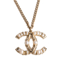 Authentic Second Hand Chanel 2011 Cruise CC Logo Necklace (PSS-A19-00036) - Thumbnail 0