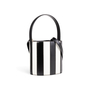 Authentic Second Hand Staud Bissett Stripe Bucket Bag (PSS-A19-00043) - Thumbnail 1