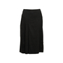 Authentic Second Hand Céline Pleated Wool Skirt (PSS-575-00109) - Thumbnail 0