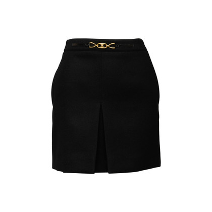 Authentic Second Hand Céline Triomphe Mini Skirt (PSS-A29-00006)