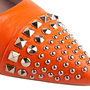 Authentic Second Hand Gucci Studded Slingback Sandals (PSS-A23-00010) - Thumbnail 7