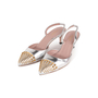 Authentic Second Hand Gucci Studded Slingback Sandals (PSS-A23-00011) - Thumbnail 3