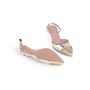 Authentic Second Hand Gucci Studded Slingback Sandals (PSS-A23-00011) - Thumbnail 5