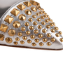 Authentic Second Hand Gucci Studded Slingback Sandals (PSS-A23-00011) - Thumbnail 7