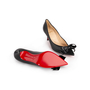Authentic Second Hand Christian Louboutin Pointed Bow Front Pumps (PSS-A23-00014) - Thumbnail 4