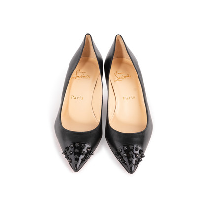 Authentic Second Hand Christian Louboutin Geo Spike Pumps (PSS-A23-00020)