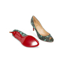 Authentic Second Hand Christian Louboutin You You Python Peep Toe Pumps (PSS-A23-00021) - Thumbnail 4