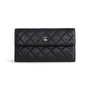 Authentic Second Hand Chanel Long Flap Wallet (PSS-852-00031) - Thumbnail 0