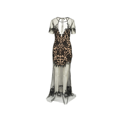 Authentic Second Hand For Love and Lemons Luau Maxi Dress (PSS-A31-00003)