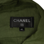 Authentic Second Hand Chanel Pleated Tie Neck Blouse (PSS-990-00359) - Thumbnail 2