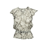 Authentic Second Hand Chanel Floral Silk Top with Shawl (PSS-990-00360) - Thumbnail 2