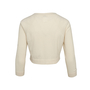Authentic Second Hand Chanel Cropped Cashmere Cardigan (PSS-990-00361) - Thumbnail 1