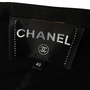 Authentic Second Hand Chanel Spring 2019 Logo Button Long Jacket  (PSS-990-00362) - Thumbnail 3