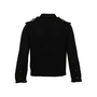 Authentic Second Hand Chanel Crochet Cotton Logo Jacket (PSS-990-00364) - Thumbnail 1