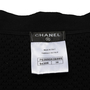 Authentic Second Hand Chanel Crochet Cotton Logo Jacket (PSS-990-00364) - Thumbnail 2
