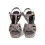 Authentic Second Hand Yves Saint Laurent Lizard Embossed Tribute Sandals (PSS-A12-00026) - Thumbnail 0