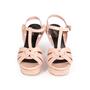 Authentic Second Hand Yves Saint Laurent Croc-Embossed Tribute Sandals (PSS-A12-00035) - Thumbnail 0